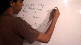 Series de Taylor Ejemplo - FisicaCiencia En HD - En español
