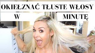WŁOSY ❤ Jak SZYBKO okiełznać tłuste włosy :)  |  Allvena #21