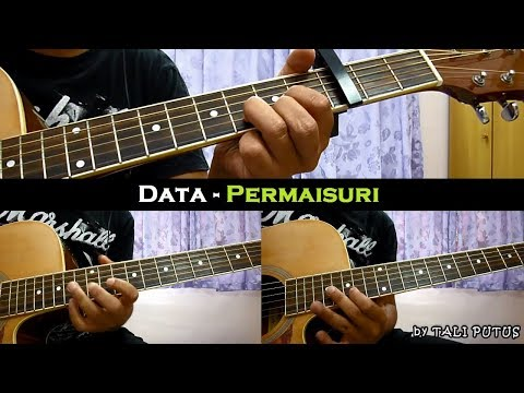 Data - Permaisuri (Instrumental/Full Acoustic/Guitar Cover)