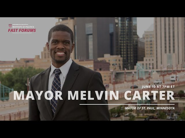 Fast Forum with Melvin Carter