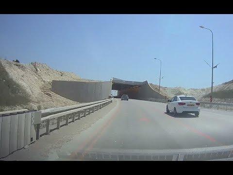 מצלמת רכב: כביש 70 עוד באמצע שיקום... Car camera: Highway 70 Reconstruction
