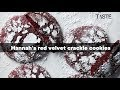 Hannah's red velvet crackle biscuits   Woolworths TASTE Magazine