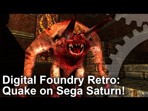 DF Retro: Quake Sega Saturn Analysis - The Impossible Port