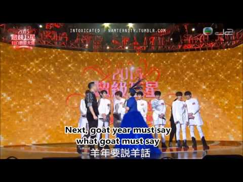 [ENG SUB] 150218 INFINITE - Red And White Superstar Arts Award Interview