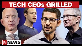 Google, Apple, Amazon, Facebook CEOs Face US Congress On Competition, Antitrust Laws