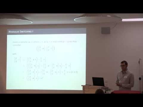 01 Albrecht on The BKW Algorithm and Variants for Solving LWE