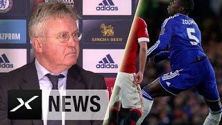 Guus Hiddink zu Horror-Verletzung von Kurt Zouma | FC Chelsea - Manchester United 1:1