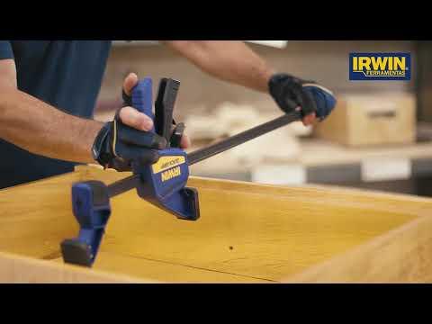 Lançamento IRWIN - Dicas De Utilização Dos Novos Grampos Quick-Grip®