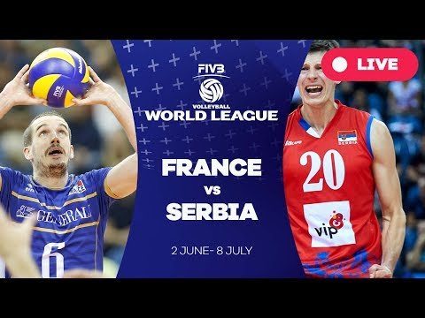 France v Serbia - Group 1: 2017 FIVB Volleyball World League
