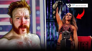 WWE MOCKS AEW Champion INJURED On RAW Becky Lynch In TOP Shape For WWE News Round Up