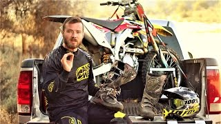 Entry level dirt bike boots review - FOX Comp 5 Offroad boots
