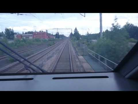 "VR Class Sm3 ""Pendolino"" Test Drive from Haarajoki to Ilmala Yard (4x)"