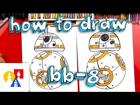 How To Draw BB-8 From Star Wars