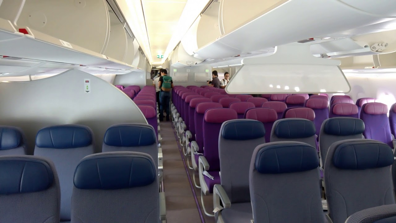 Malaysia Airlines A350 Interior
