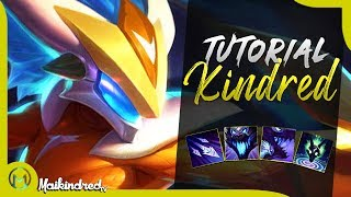 TUTORIAL COMPLETO DE KINDRED  |  TOP 1 KINDRED BR GUIA COMPLETO  |  GAMEPLAY TUTORIAL