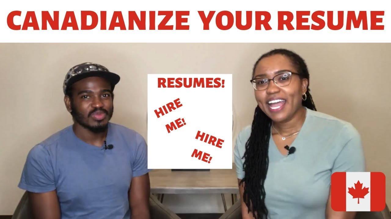 canadian style resume tips