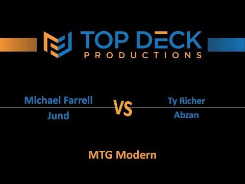Modern FNM w/ Comm 10/13/17: Michael Farrell (Jund) vs. Ty Richer (Abzan)