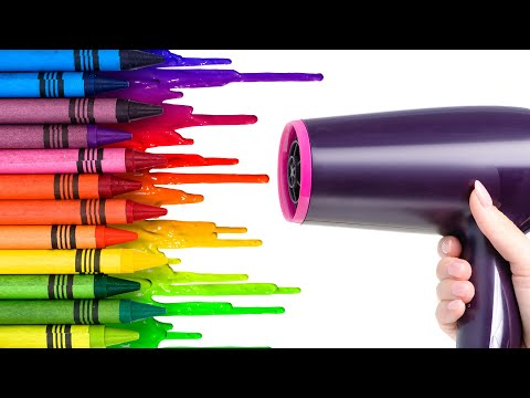5 Crayon Life Hacks To Brighten Up Your Life