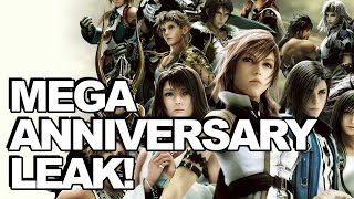 Crazy Plans For Final Fantasy 30th Anniversary Rumoured, Inc. Final Fantasy XIII Trilogy!