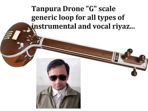 G Tanpura - Drone Generic Loop For All Indian Classical Instrumental/Vocal Performances.