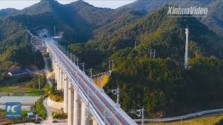 High-speed railway boosts tourism in China