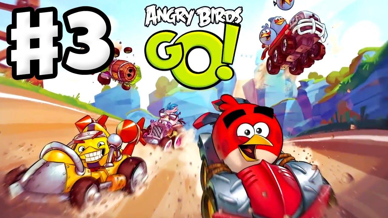 Angry Birds Go Gameplay Walkthrough Part 3 King Sling