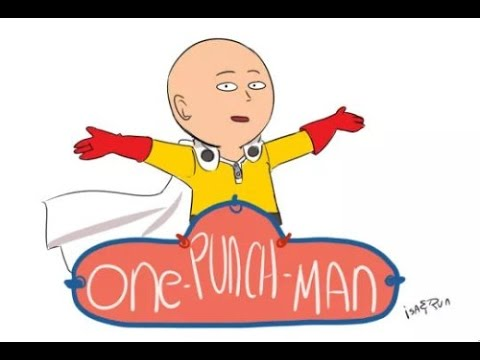 One Punch Caillou - YouTube