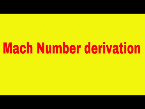 mach number derivation | compressible flow lectures | fluid dynamics | choking in nozzle | fluid