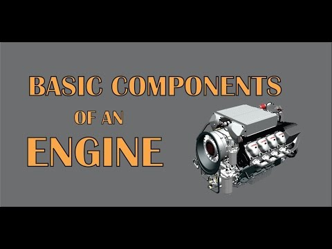 Engine parts | Basic Components of an Engine