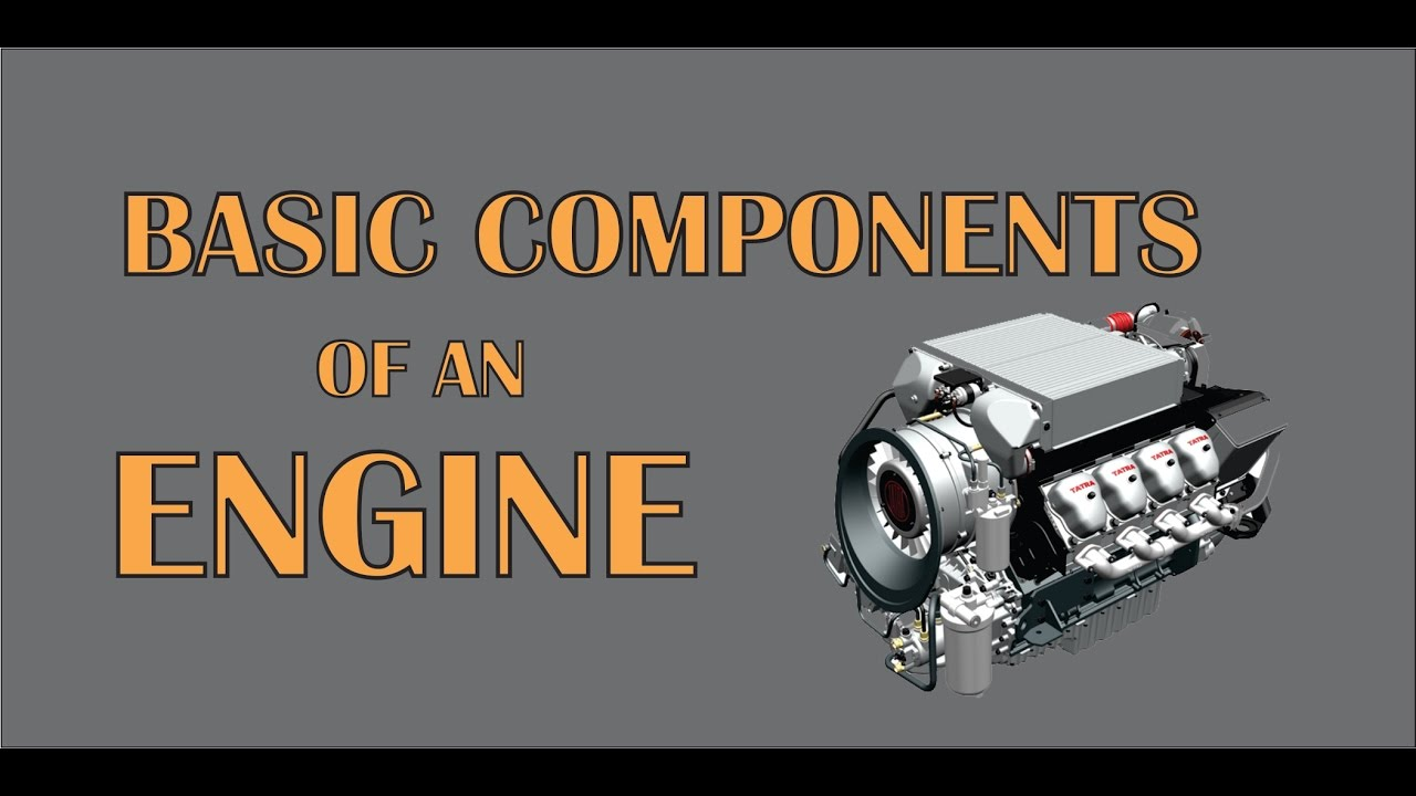 Engine Parts Basic Components Of An Engine Youtube