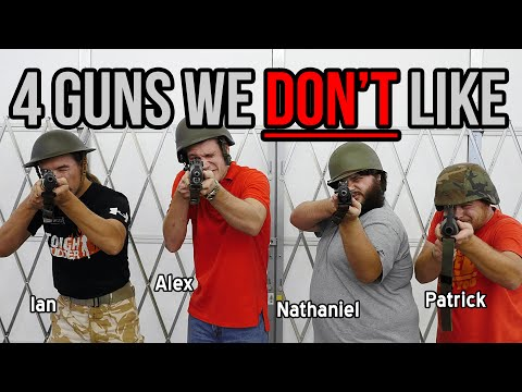 4 Guns We Don't Like (with Ian McCollum and Nathaniel F.)