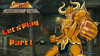 Saint Seiya: Soldiers' Soul Let's Play![Part 1] The Palace of Taurus w/ Commentary