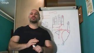 Хиромантия. Урок 10. BASIC 3/18. Линия Судьбы. Знаки
