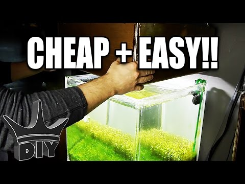 DIY planted aquarium LED light