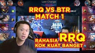 MPL MATCH 1 BTR VS RRQ ANALISA GAMEPLAY!!