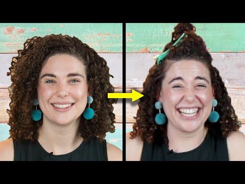 Boyfriends Style Their Girlfriends Curly Hair