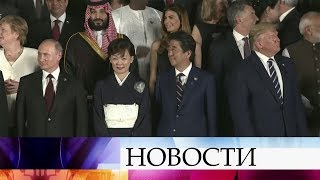 """Владимир Путин и Дональд Трамп на саммите """"Большой двадцатки"""" в Осаке общались почти 1,5 часа."""
