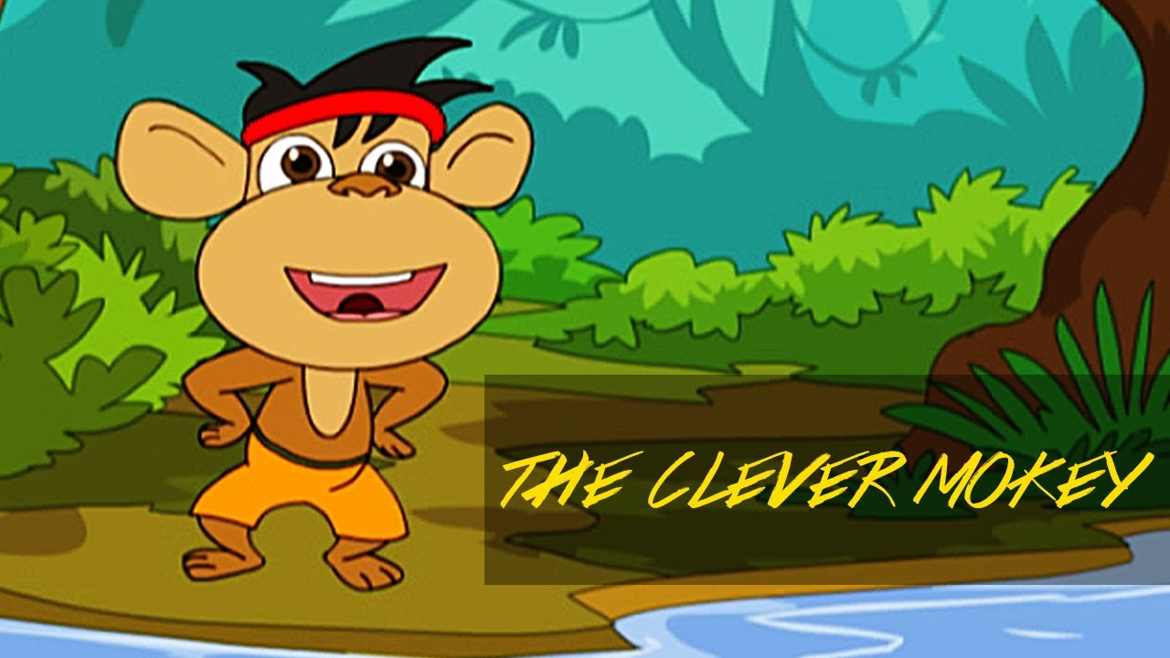 Jataka Tales Moral Stories The Clever Monkey Youtube