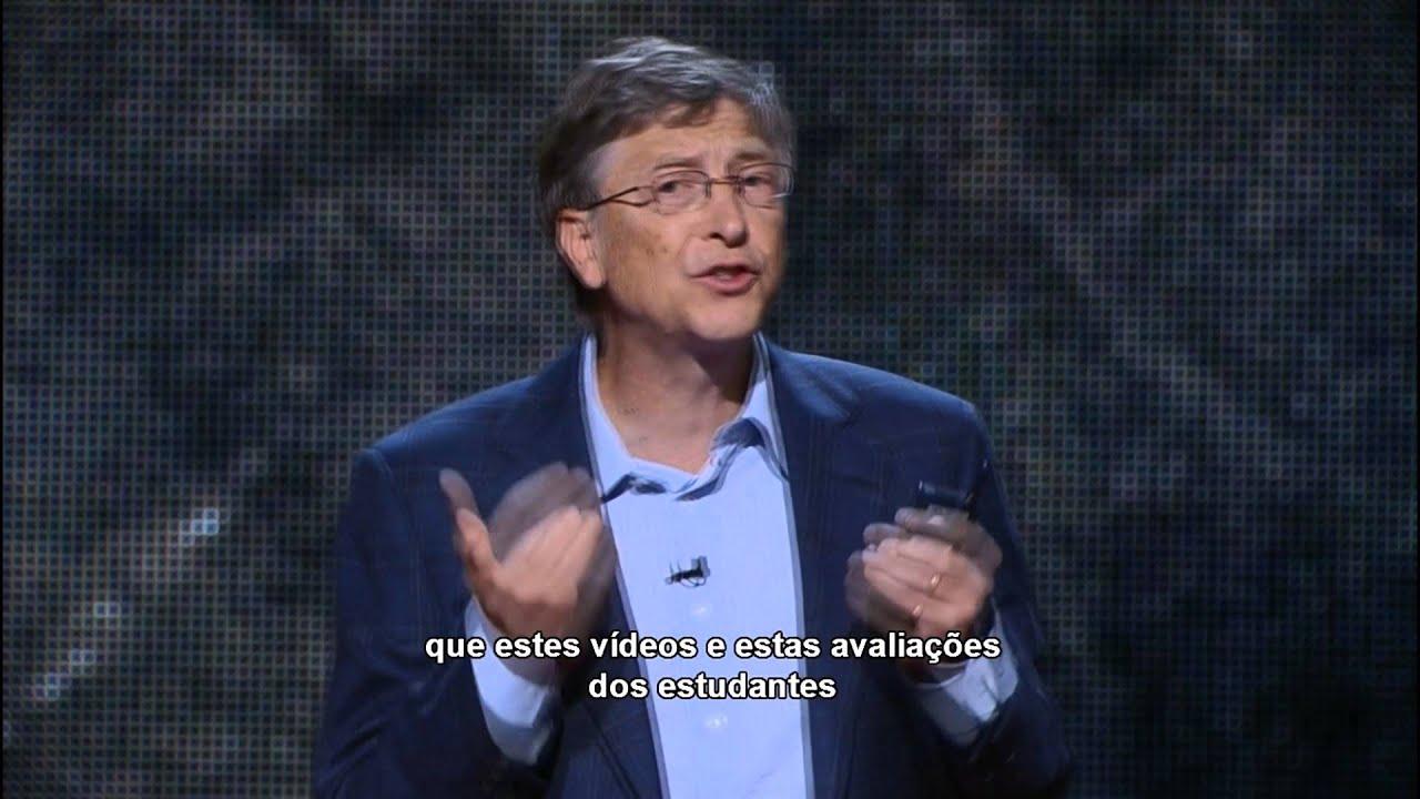 TEDTALKS-LEGENDADO-Bill Gates e o emprego mais importante do mundo.