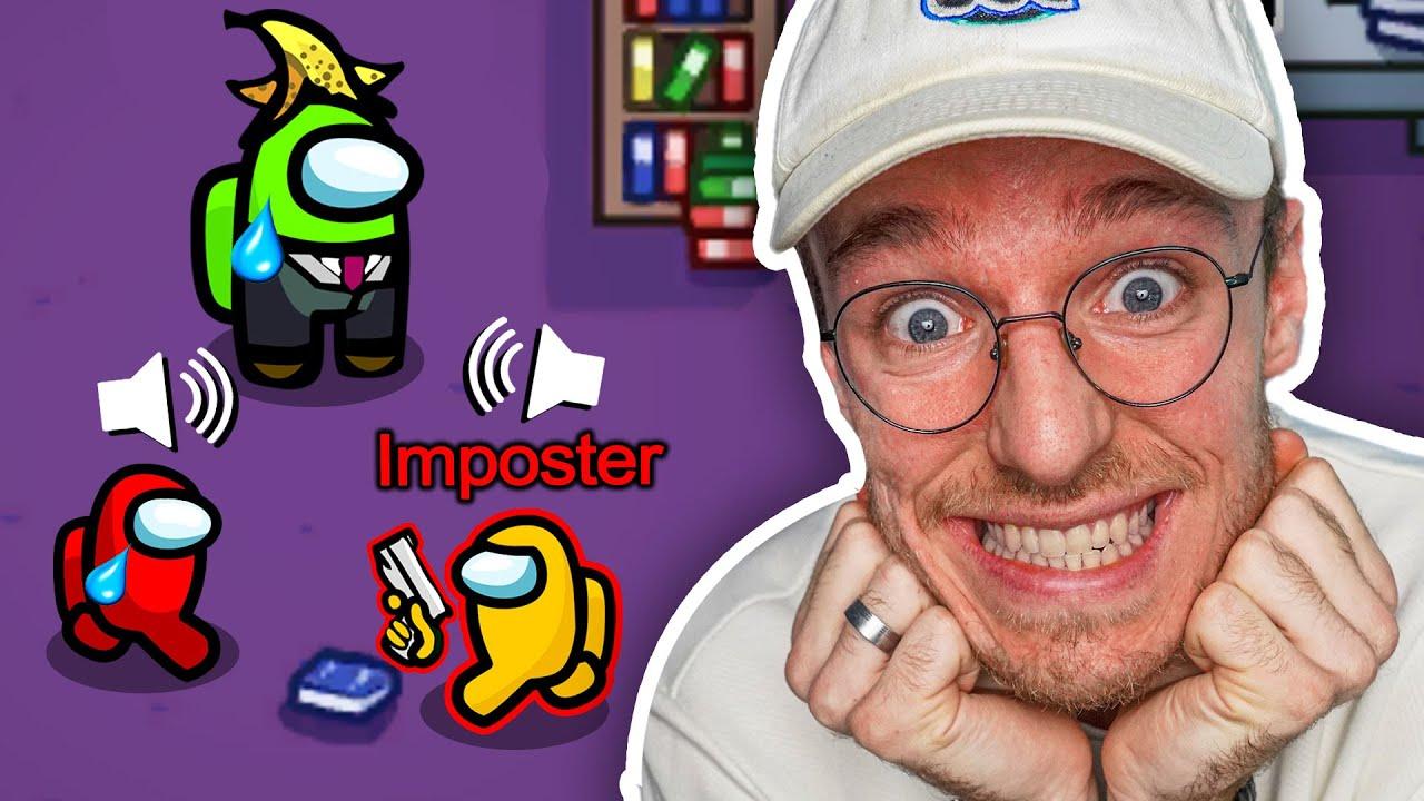 GAMEMENEER VERRAAD ZICHZELF ALS IMPOSTER IN AMONG US!!!