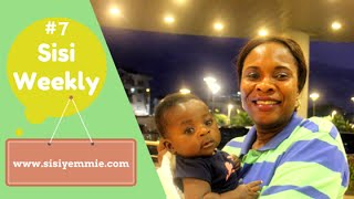 "VLOG: LIFE IN LAGOS, NIGERIA : Sisi Weekly #7 ""MY BABY FELL ILL!"""