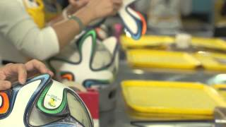 adidas brazuca official ball wc 2014 production