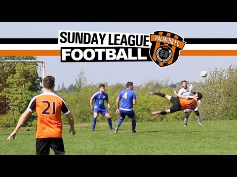 Sunday League Football - COMPLETELY UNMARKED!