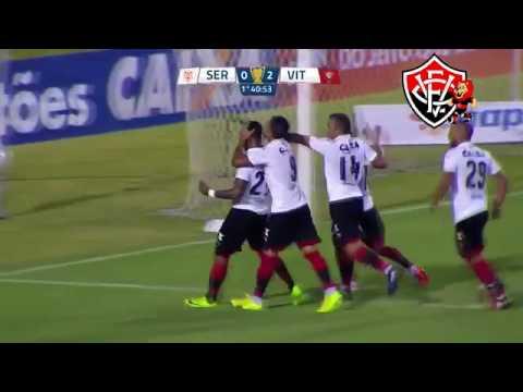 Gols : Sergipe 1x2 Vitória- LEÂO CLASSIFICADO!