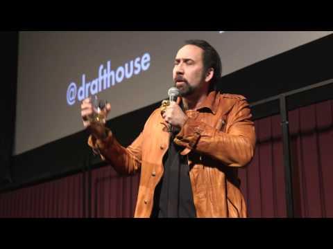 Nicolas Cage Q&A at C4GED