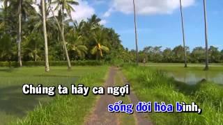 [Karaoke] Bài Ngợi Ca Quê Hương - Lâm Quốc Hùng