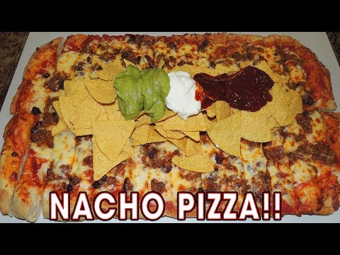 chilli-beef-nachos-pizza-challenge-in-cardiff,-wales!!