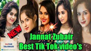 Jannat Zubair Tik Tok Video's   Jannat Zubair   Jannat Zubair song   Jannat & Faisu Tik Tok videos