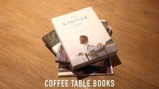 My Top Fav Coffee Table Books | Vol 1 |