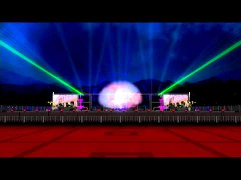 Visualisation Aquamagic Show Muscat Festival